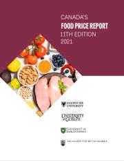 Food price CFPR2021