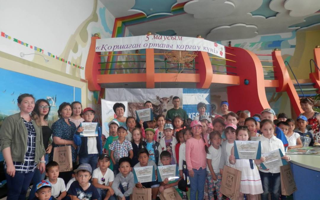 'Saiga Day' festival in Central Kazakhstan 2016