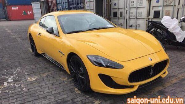 Khui công Maserati GranTurismo MC Sportline đầu tiên xuất hiện tại Việt Nam