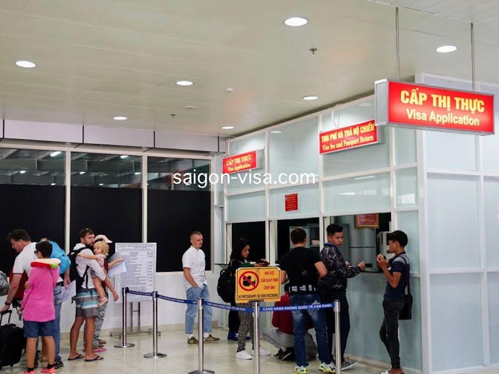 ベトナム_ニャチャン_カムラン国際空港_アライバルビザの取得方法_Vietnam_Nha Trang_Camranh airport_Visa On Arrival