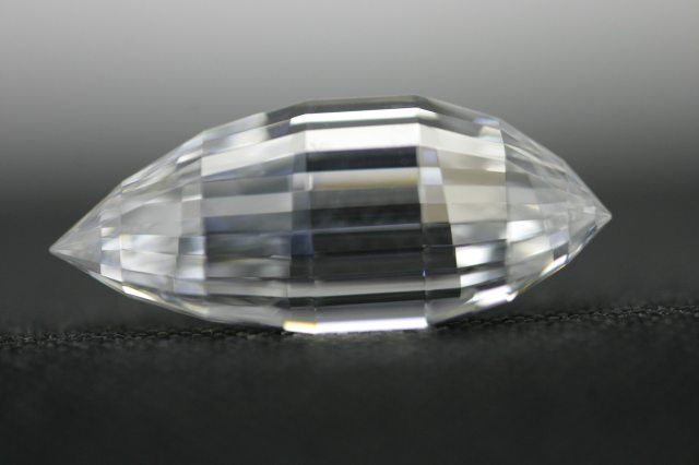 "The Esperanza diamond with a custom-designed ""triolette"" cut by Mike Botha"