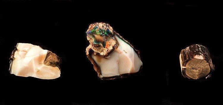 three opals