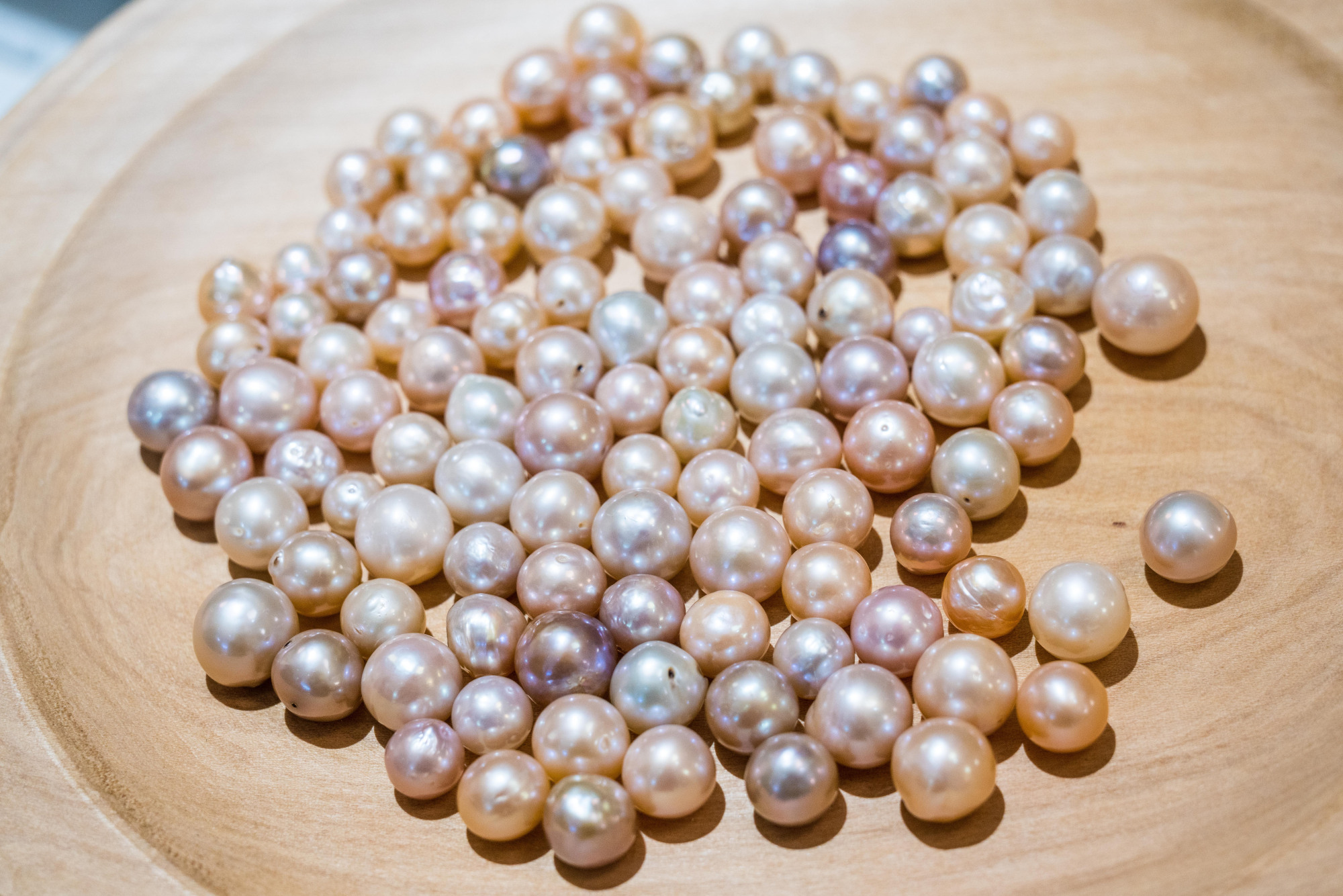 Freshwater pearls in Japan