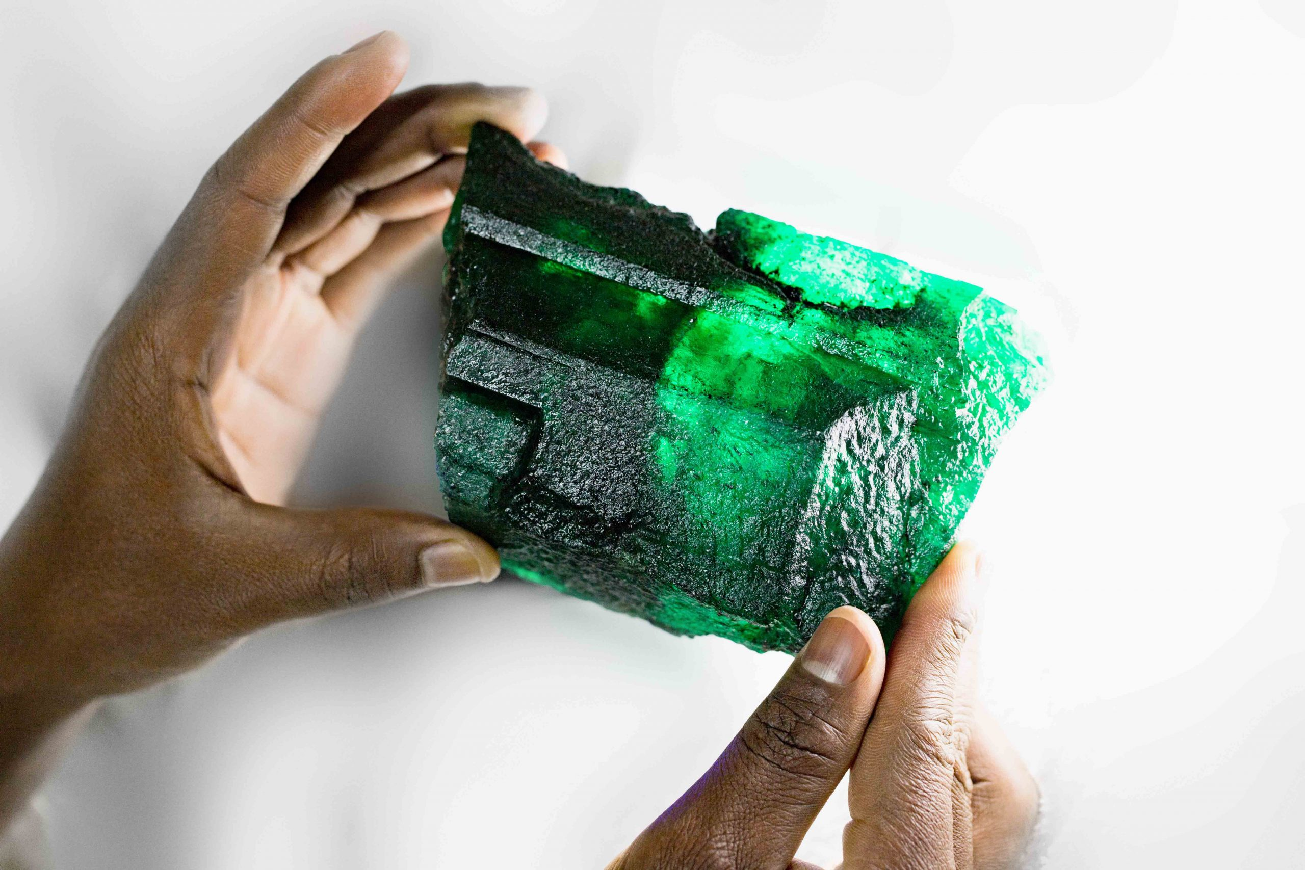 'Inkalamu', the 5,655 carat Lion Emerald