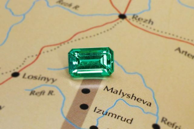 The Ural Emerald in Malysheva mine.
