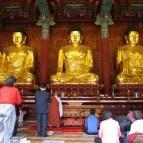 главный алтарь храмаЧогеса.Сеул