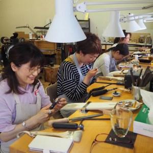 SAIJO彫金教室|SAIJO|京都/宇治|彫金教室/アクセサリースクール