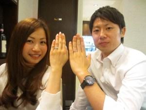 ウェディングリング 結婚指輪 フルオーダーメイドマリッジリング SAIJO 森拓郎