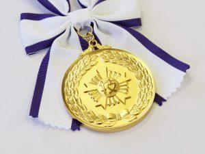 第31回技能グランプリ金賞の金メダル