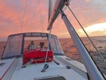 Sunsets at sea...amazing