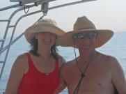 Cheryl and Roy, crew extraordinaire!