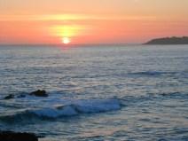 Sunset at sea...ah