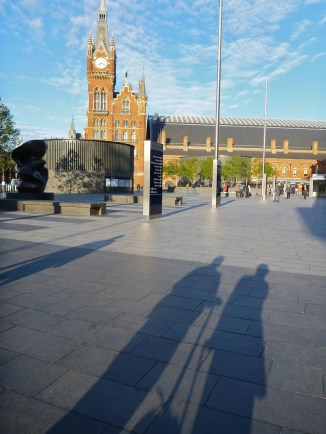 King's Cross station bright and early