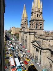 Beautiful busy Guadalajara