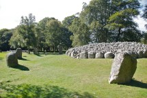 The burial cairns...amazing..