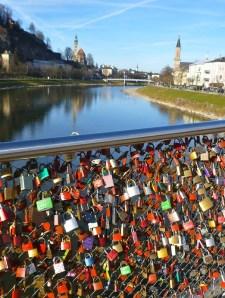 Love locks everywhere!