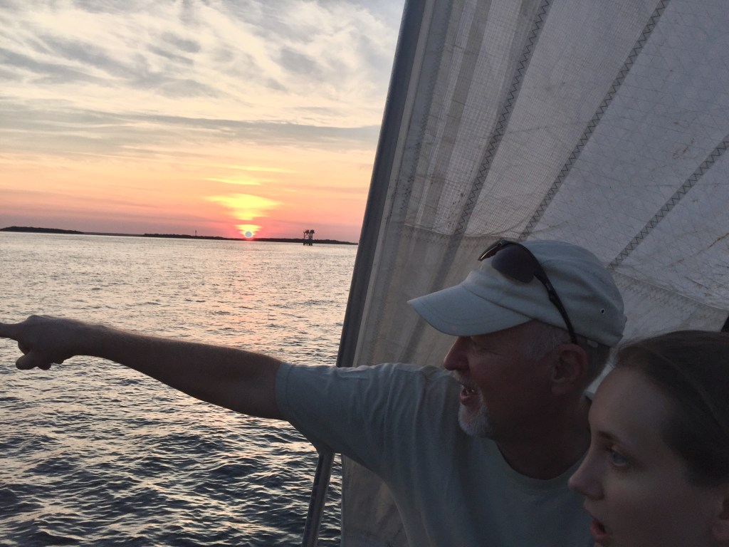 Sunset Sailing Cruise Sail Amelia