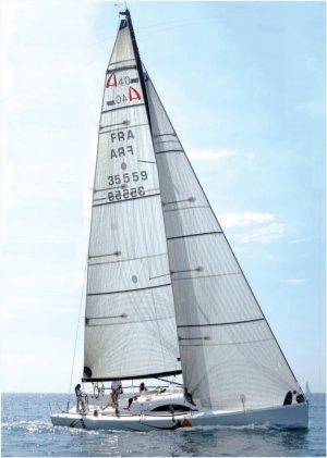SailboatData  ARCHAMBAULT 40RC Sailboat