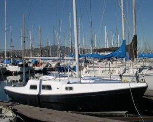 SailboatData  DEL REY 24 Sailboat
