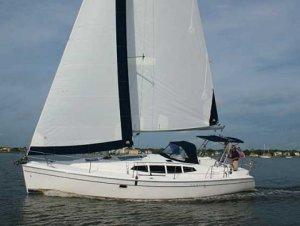 SailboatData  HUNTER 39 Sailboat