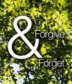 To Forget While Forgiving
