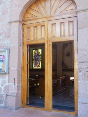 The church cortes built