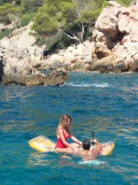 Mallorca catamaran day trip float