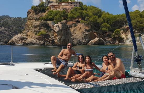 Mallorca catamaran trips - Sail go catamaran - Private sailing trip