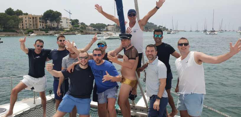 Sail Go Catamaran -Mallorca catamaran trips-stag party
