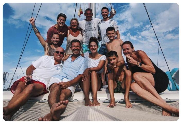 Shared trip Sail Go Catamaran