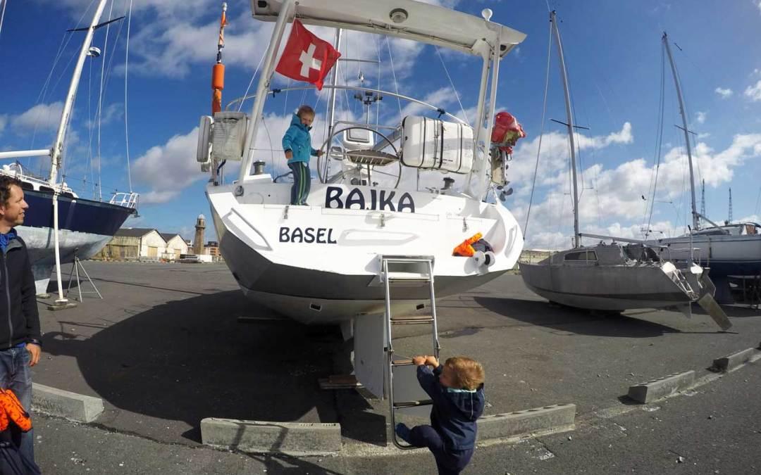 Le Havre – und schon wieder einwintern