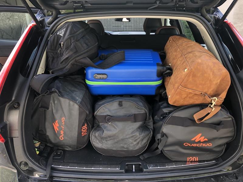 Wir packen und es geht los