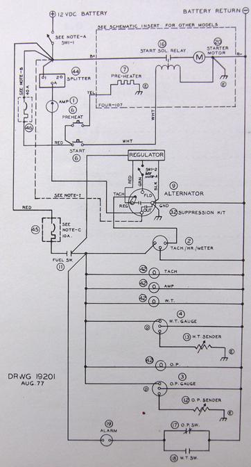engine schematic dgm  mitna