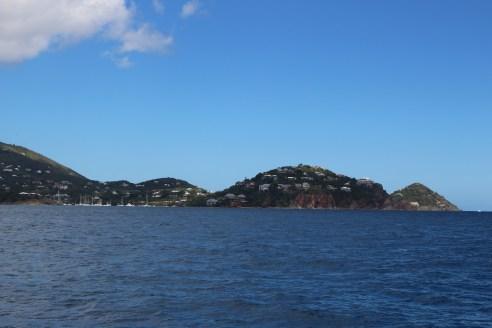 Approaching St. Martin