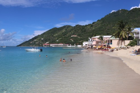 Lovely beach at Grand Case