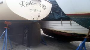 L'chiam To Life in Duck Creek Marina after Hurricane Florence
