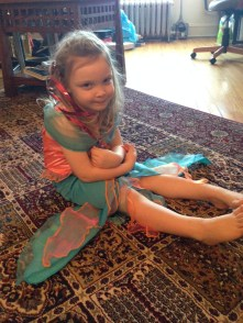 May I introduce, Princess Mermaid Claire.