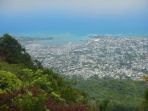 The view of Puerto Plata from the top