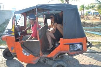 Unsere erste Bajaj-Fahrt von der Marina Pantai Mutiara