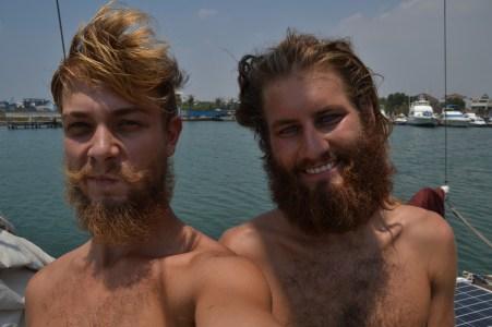 Der Bart wird....