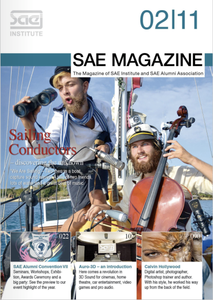 SAE Magazin - Cover Page