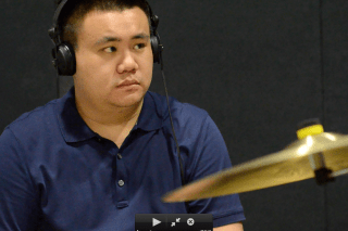 Drums: Marvin Khoo (Singapur)