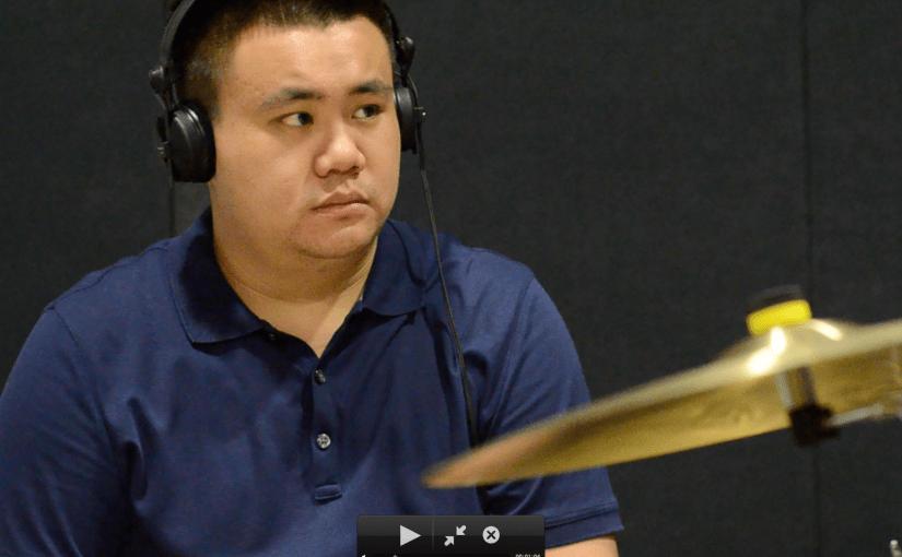 Drums: Marvin Khoo (Singapur)