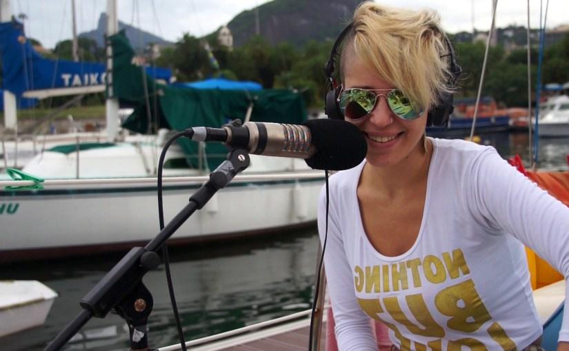 Recording Vicky Lucato in Rio on Marianne, Marina da Gloria