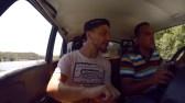 Die allererste Taxifahrt in Kuba.