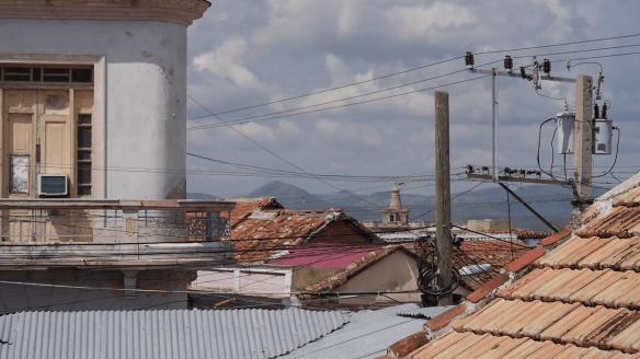 Über den Dächern Santiago de Cuba