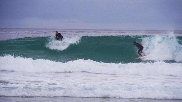 Die Wellen sind heute traumhaft