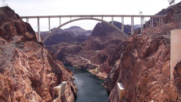 Der Hoover Dam, Amerikas größter Staudamm
