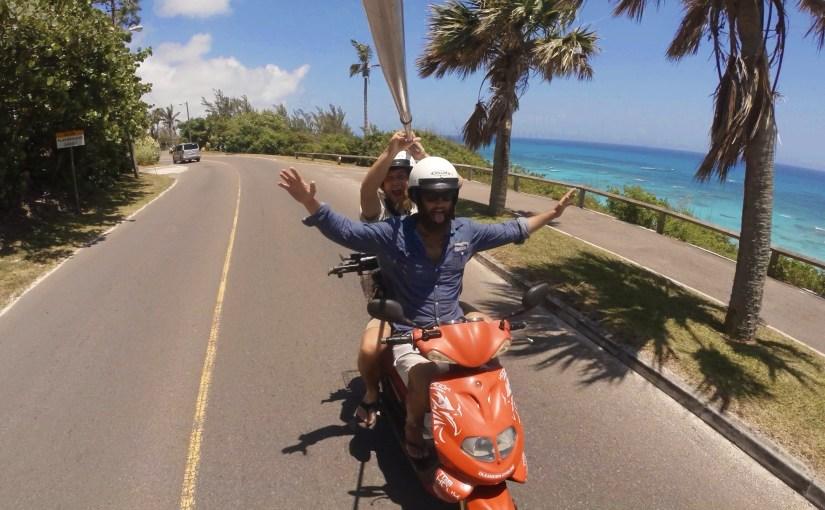 Der längste Selfie-Stick der Insel, Americas Cup und ein kleiner Unfall