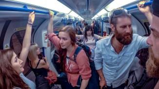 U-Bahnfahren in London